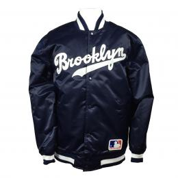 Majestic Brooklyn Stadium Jkt Blk/Grey