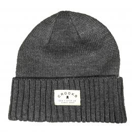 CROOCKS & CASTLES Beanie[Grey]50%OFF