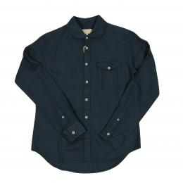 JOEY-FACTORY Cotton Linen Shirt  (OLIVE)