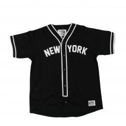 The Rickford Institute/Baseball Shirt (Black)
