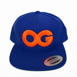 VANDAL-A/O.G SNAPBACK CAP[BLUE/ORANGE]