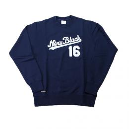 "NEW BLACK ニューブラック""HOME CREW SWEAT""【NAVY】"