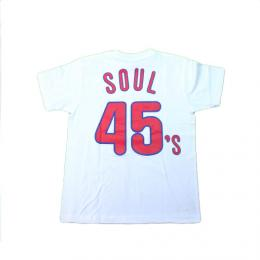 "MVP×Majestic ""MAJESTIC PHILLY SOUL 45's TEE""【White】"