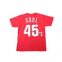 "MVP×Majestic ""MAJESTIC PHILLY SOUL 45's TEE""【RED】"