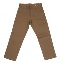 JOEY-FACTORY Cropped Stretch Chino[Khaki] 30%off