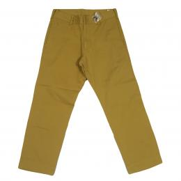 JOEY-FACTORY Cropped Stretch Chino[Yellow] 30%0ff