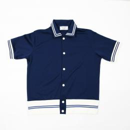 "Nisus Hotel ""Game Shirt"" 【Navy】"