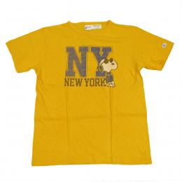 Champion-ROCHESTER SNOOPY Tee S/T[Yellow]
