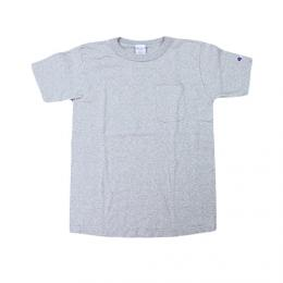 "CHAMPION チャンピオン MADE IN USA Heavy Wait ""US POCKET TEE T1011""(GREY)"
