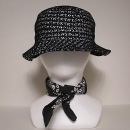 IMPORT EXPORT / WORLD UNDER NET HAT [BLACK]