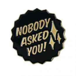 LilBullies リル バリーズ Lapel Pin【Kill The Giant Nobody Asked】