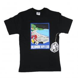 BILLIONAIRE BOYS CLUB SPACE BEACH S/S TEE 【BLACK】