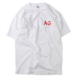 "ACAPULCO GOLD ""ABOVE THE LAW TEE"" 【WHITE】"