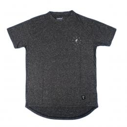 Akomplice/Texture DT Tee/w AKprint [Chacoal]