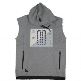 10DEEP SLVLSS TECH HDY[GREY MARL]