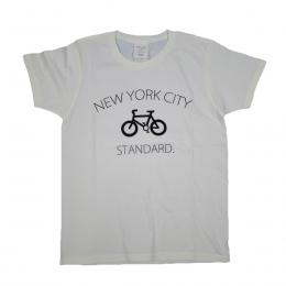 GOTHAM NYC/CITY TEE CHARI[WHITE]
