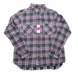 HOUSTON/Viyella Work Shirt / ビエラ ワークシャツ
