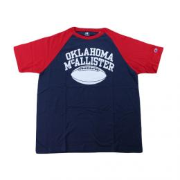 "CHAMPION チャンピオン ""FOOTBALL Raglan""[NAVY/RED]"