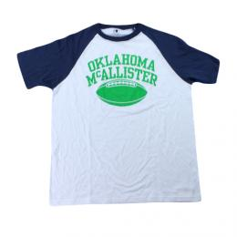 "CHAMPION チャンピオン ""FOOTBALL Raglan""[WHITE/NAVY]"