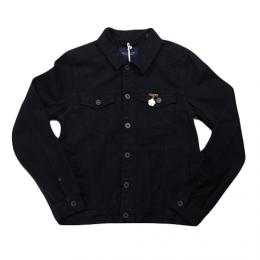 "Scotch&Soda(スコッチ&ソーダ)""Cobra's and Roosters Trucker Jacket with back Embroidery"""