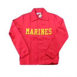 "EBBETS FIELD FLANNELS エベッツフィールドフランネル""COTTON WINDBREKER""MARINES""【RED】"