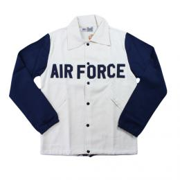 "EBBETS FIELD FLANNELS エベッツフィールドフランネル""COTTON WINDBREKER""5TH ""AIR FPRCE""  【Off White】"
