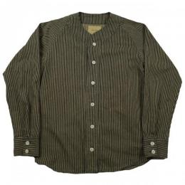 Nisus Hotel ナイサスホテル Hickory Dyed BB Shirts HICKORY