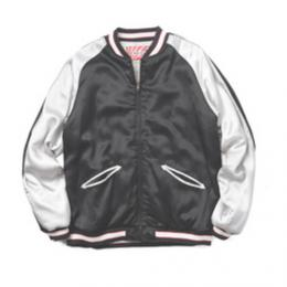 "HOUSTON WOMENS ""50446 SOUVENIR JACKET"" 【BLACK】"