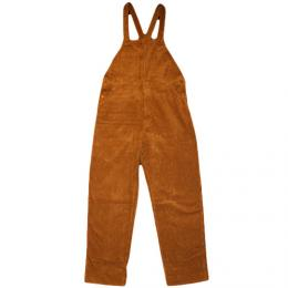 "NISUS HOTEL""Cotton/Wool Corduroy Overalls""【BROWN】"