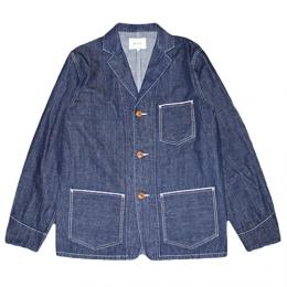 "NISUS HOTEL""Selvedge Denim Shirt Jacket""【INDIGO】"