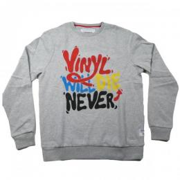 Supreme Being NEVER! CREW【GREY】