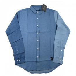 Akomplice Threessome DT Button-Up 【Blues】