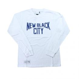 "NEW BLACK""Jack L/S Tee""【White】"