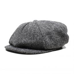 "Nisus Hotel ""Harris Tweed Casquette""【GRAY】"