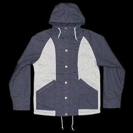 "Nisus Hotel ""Hooded Parka Jacket""【Navy】"