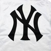 "Majestic Athletic (マジェスティック) / ""New York YANKEES"" SATIN HOODED COACH JACKET"