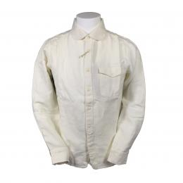 JOEY-FACTORY Cotton Linen ShirtL [White] 20%off