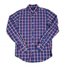 J Crew ジェイクルー L/S Check Shirt (Blue/Red)