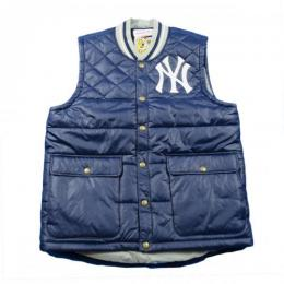 MITCHELL&NESS NEW YORK YANKEES VEST 【NAVY】
